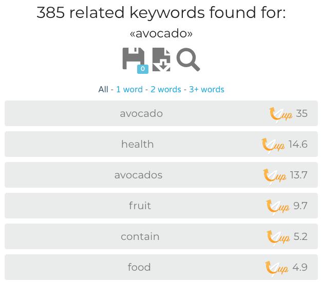 Screenshot of Keys4up